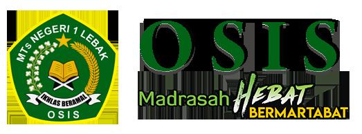 OSIS Madrasah Tsanawiyah Negeri 1 Lebak